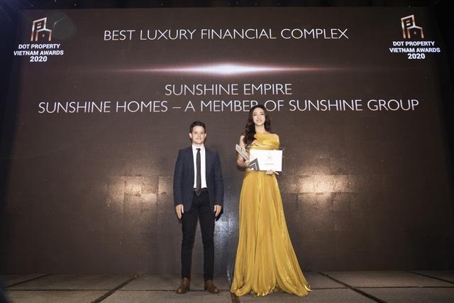 Dấu ấn đặc biệt của Sunshine Group tại Dot Property Vietnam Awards 2020 - Ảnh 3.