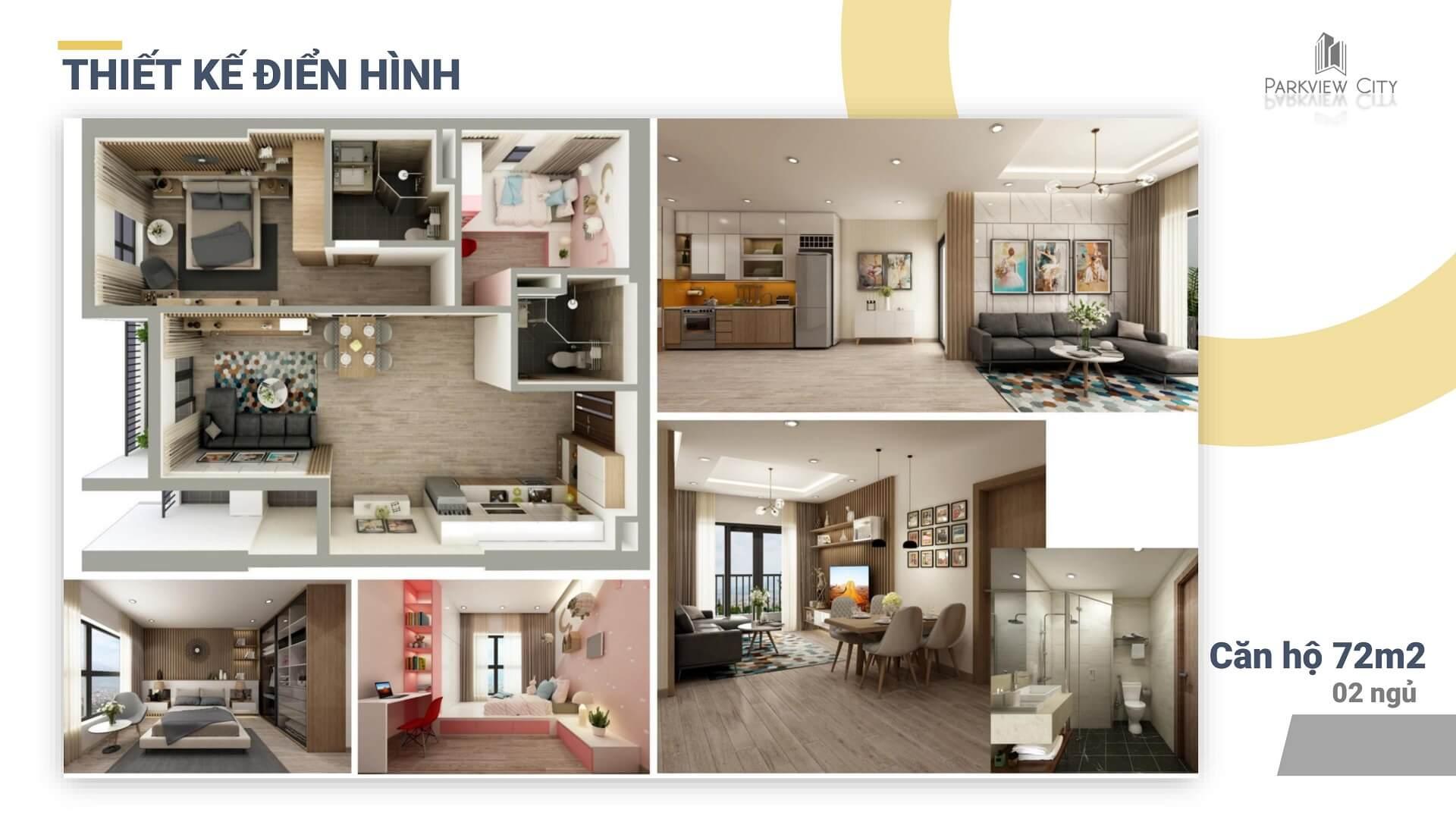 thiết kế chi tiết căn hộ 3