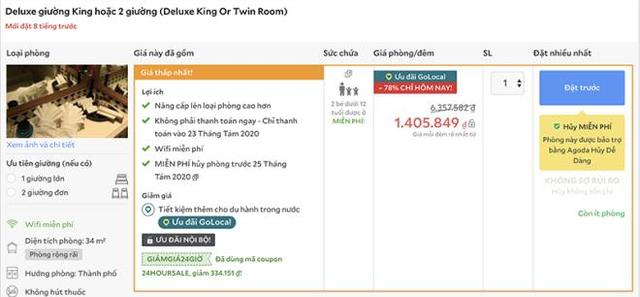 Giá phòng khách sạn 5 sao ở Hà Nội giảm kịch sàn  - Ảnh 1.