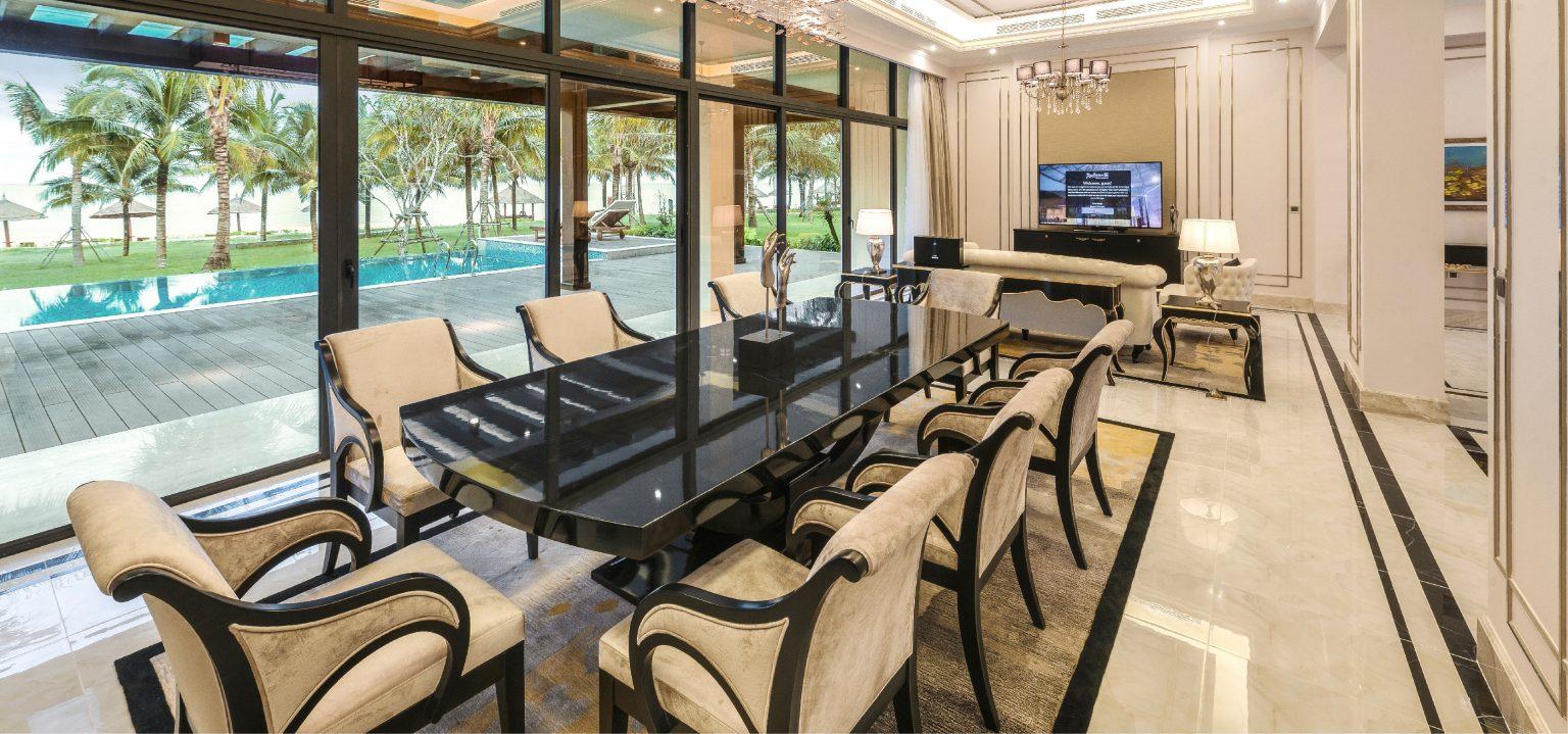 nội thất biệt thự cao cấp trà cổ long beach luxury