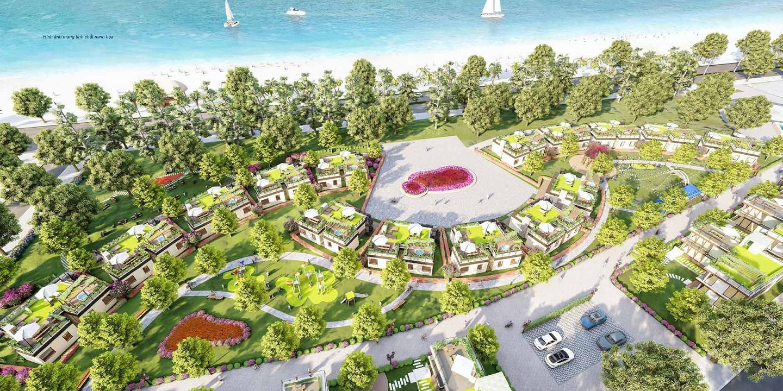 tiện ích dự án trà cổ long beach luxury
